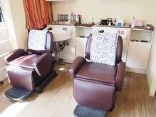 ヘアサロン ハリコット(Hair Salon Haricot)の雰囲気(寝心地最高のソファー風の椅子を用意したシャンプー台で良い夢を)