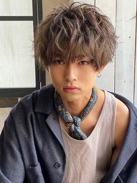 アグ ヘアー ビヨンド 戸塚店(Agu hair beyond)《Agu hair》ソフトスパイラルパーマ ゆるふわマッシュ