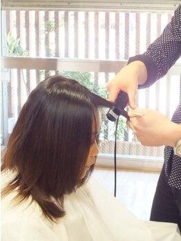 ダブハンズミカゲ(Dabhands mikage)の写真/【御影】本当は、1番気になってるのは前髪では…?短時間で扱いやすいStyleに★【ポイント縮毛¥4310】