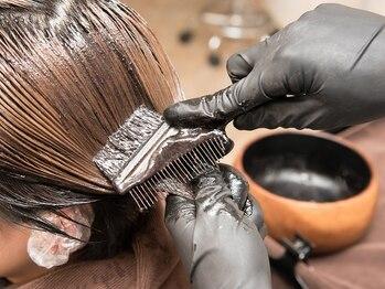 恋する毛髪研究所 金町laboの写真/植物由来成分90%以上配合☆髪のツヤ・ハリ・コシをUPさせる注目のナチュラルハーブカラーで美しく♪
