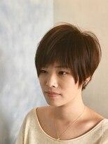 ヘアーカーブ(haircarve)haircarve2019春夏新色レディブラウン丸みショート