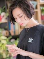 ■bliss上尾5-2★■黒髪がso cool !大人かわいいラフボブ