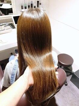 シェノン(Chainon)の写真/【髪質改善専門サロン】諦めていたその髪に…『美髪エステ』一度体験したらやみつきになる程の質感&艶感◎