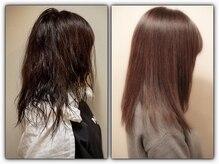 癖毛の方に大革命☆★ NumeroOSAKAオリジナルの髪質改善ストレートっていったい。。。★