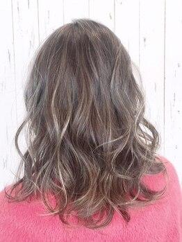 ヘアーガーデンハグム(hair garden hugm)の写真/【合志アンビー熊本】話題の【イルミナ/アディクシー】取扱い!!全カラーメニューに前処理TR付き◎