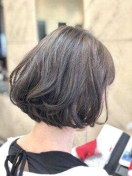 ヘアーメイクチャム(hair&make CHUM)グラデーションパーマ