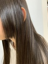 大人可愛いストレートヘア/姫カット/レイヤー/艶・濡れ髪/地毛