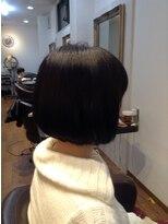 ヘア ルシェ(hair ruscha)【ヘアルシェ】おすすめ♪シンプルボブ♪