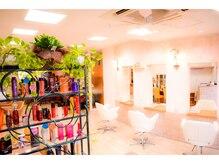 美容室 髪遊の雰囲気(寛ぎの空間。)