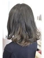 ヘアーデザイン キャンパス(hair design Campus)【インナーブリーチ】濃厚アッシュxシルキーグレージュインナー