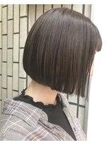ヴィークス ヘア(vicus hair)グレージュ×ボブ by 井上瑛絵