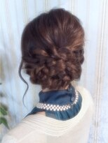 【miel hair bijoux】編み込みナチュラルヘアセット♪