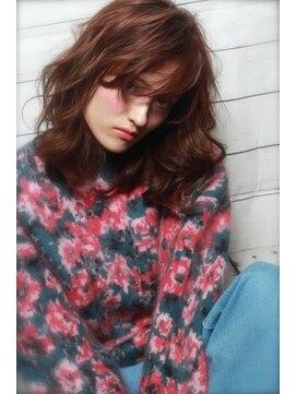 アンヘアー アリーズ(UN hair Ally's)2017トレンドカラー☆バレイヤージュ♪【担当 永井】