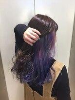ヘアサロン ドット トウキョウ カラー 町田店(hair salon dot. tokyo color)【sherbet color】インナーカラーカラーリスト田中【町田/町田】