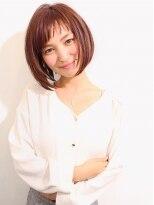 【morio池袋】人気ショートボブアシンメトリーショートバング♪