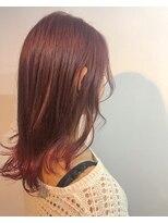 ヘアメイク オブジェ(hair make objet)autumn ピンク