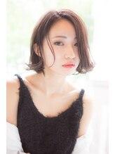 ヘアーブランド ビーアーツ(hair brand b arts)【b-arts】大人めヌーディスタイル×ベージュブラウン