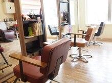 ヘアサロン ハリコット(Hair Salon Haricot)の雰囲気(長時間座っても疲れないホッと一息つけるカットチェアー)
