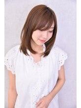 シンクヘアー(think hair by tori)☆サラツヤストレート☆