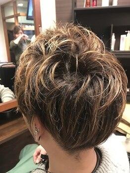 ヘアーアンドメイク ぐらしあす 西宮北口本店(Hair & Make gracias)の写真/メンズクーポン多数◆男前カット&カラー 3980円~◆ONもOFFも簡単スタイリングでキマるデザイン提案が◎