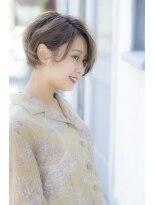 【miel hair渋谷】大人かわいい耳かけボブ