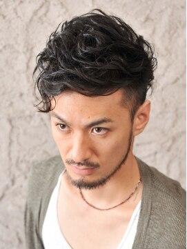 ヘアーメイク ゴルジェ hair make Gorge'男らしい『ワイルドスタイル』