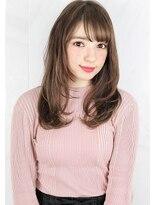 ヘアサロンガリカアオヤマ(hair salon Gallica aoyama)☆ プラチナグレージュ ☆ セミロング × 毛束感 ☆