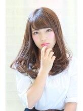 ディックスヘア(DiX Hair)【Dix Hair by San-ai】カーキブルー×フワセミディ-3