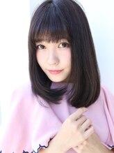 アグ ヘアー シャイン 富山市店(Agu hair shine)☆ナチュラル×暗髪ミディ☆