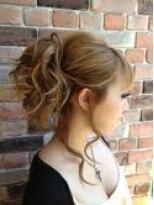 アーティカルヘア(ARTICAL HAIR)【ARTICAL HAIR】後れ毛がポイント!ポニーテール風アップセット