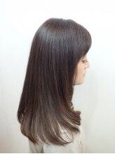美容室 バンブー(BAMBOO)縮毛矯正+毛先カール