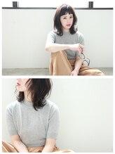 メルバイフェリア(mel by FERIA)mel...外ハネ × 抜け感バング