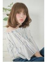 premier models大人ガーリーミックスシフォンパーマ&ハイライト