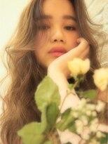 ミエルヘアーアンドスパ(miel hair&spa)◆ miel  ◆ アンニュイガーリー やわふわロング