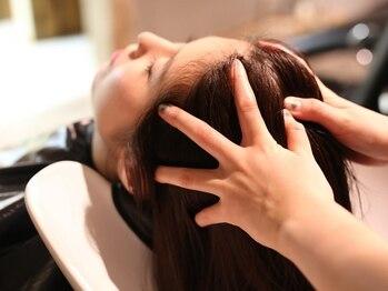 ヘアー アイス ルーチェ(HAIR ICI LUCE)の写真/【大須】キレイな髪は地肌からのケアが大切♪クレンジングと保湿の2種類から選べる!地肌美人で艶髪に!