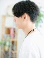 ココデサロン ハナレ 浅草(cocode salon HANARE)【浅草美容院HANARE】センターパートのワイルド!黒髪マッシュc
