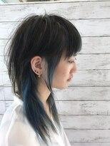 スパーク ヘアアンドフェイス(Spark HAIR&FACE)ブルーな感じなウルフな感じ!
