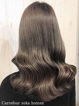 カルフール 草加本店(Carrefour)【髪質改善】ツヤめく潤髪♪カラー+カット+TOKIOトリートメント