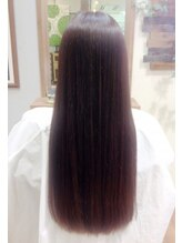 ヘアーアンドカフェ フラワー(Hair&Cafe flower)髪質改善Oggiottoシステムトリートメント