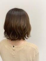ヘアサロン ロータス(Hair Salon Lotus)hair salon Lotus 波巻き ブラウンベージュ