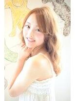cieL☆抜け感ナチュラルオレンジベージュロングTEL 0425220202