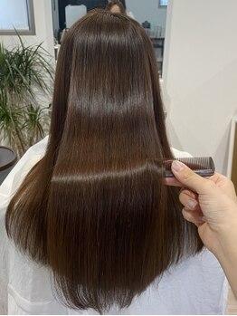 ノイル(noir)の写真/見た目年齢に違いが!エイジングケアが叶う魔法の髪質改善♪スタイルページは要チェック!!時を戻す髪質改善