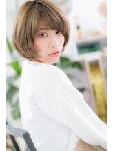 ミック ヘアアンドメイクアップ 大塚店(miq Hair&Make up)女の子オーラ漂う☆ピュアボブ