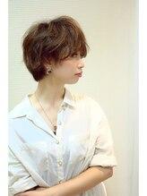 リジェール 中村店《朝ラクstyle》雰囲気美人☆辺見えみり風こなれショートヘア