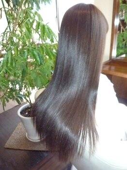 ヘアーサロン ノルテ(Hair Salon NORTE)の写真/傷みSTOP!!【超音波イオン生トリートメント】無理な施術を勧めません。まずはNORTE独自の毛髪&頭皮診断から