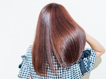 シータ 坂戸北口店(THETA)の写真/【坂戸駅徒歩2分】髪質改善Aujuaトリートメント取扱い♪貴方だけのヘアケアを体感してみて◎