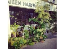 ジーン ヘア ワークス(JEEN HAIR WORKS)の雰囲気(一見cafeのようなナチュラルな雰囲気♪)