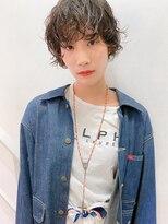 ラパンセノアール(LA PENSEE NOIR)【LAPENSEE NOIR】ココアブラウン×フリンジウェーブ