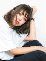 エトネ ヘアーサロン 仙台駅前(eTONe hair salon)【eTONe】おしゃれアッシュボブ