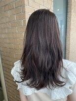 サロンドミルク 原宿(salon de MiLK)ダークモカブラウン 深い紫とピンクを添えて♪ 艶髪 髪質改善